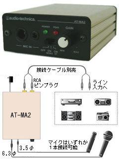 欠品情報 AT-MA2 オーディオテクニカ製