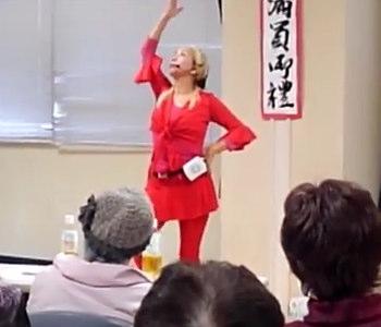田上はる美先生によるカルメン健康体操とパワギガE