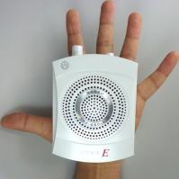 ガイドボランティアで軽くて小さい手ぶら拡声器を