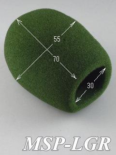 緑 マイク風防