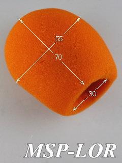 オレンジ マイク風防