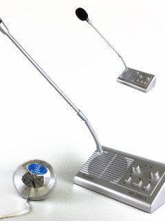 対面業務での飛沫防止に適したマイク会話システム NSD-2006DL+