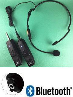 送信ヘッドマイク1個、受信機2個の使い方は?