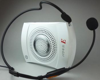 イベント用拡声器パワギガEは予想以上の性能