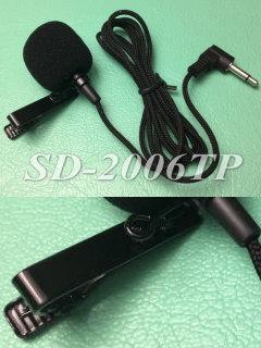 タイピンマイク SD-2006TP コンデンサマイク