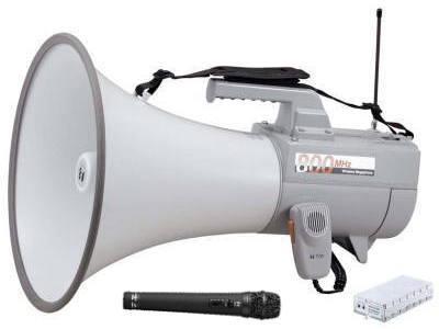 選挙用大型ショルダーワイヤレスメガホン ER2830W-HM
