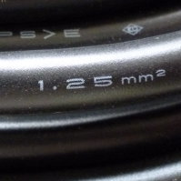 断面積1.25m/m